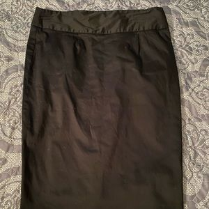 Black pencil skirt size 8